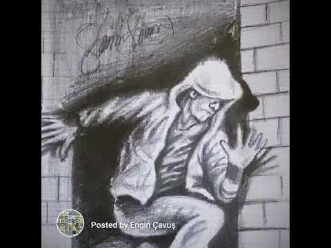 Koşan Adam Karakalem çizim Slayt Video Youtube