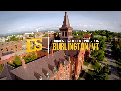 Burlington, Vermont | From the sky! | HD