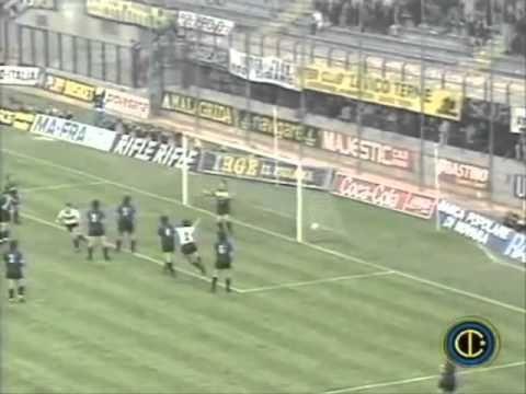 1990-91 Inter Atalanta 2-0 Coppa UEFA 20 mar. 1991
