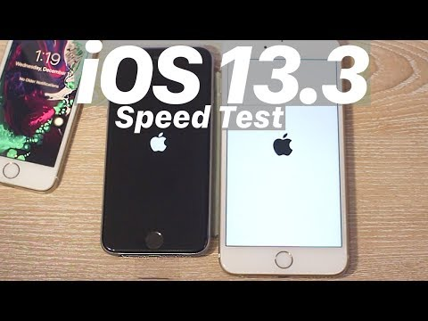 iOS 13.3 vs. iOS 13.2.3 : SPEED Test + BENCHMARK! FASTER? OUT NOW!