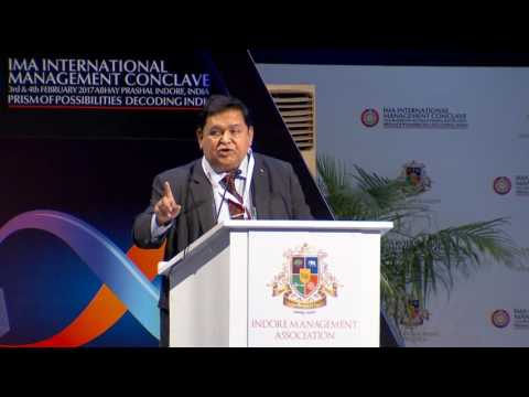Mr. A.M. Naik - 26th IMA International Management Conclave 2017.