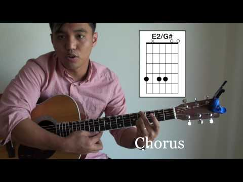 You Are Good Guitar Tutorial (Israel & New Breed) - Zeno - with CHORDS