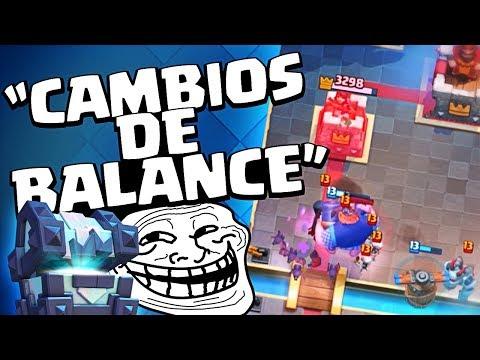 CAMBIOS DE BALANCE DE JUNIO ¡¡COFRE TROLL!!   Clash Royale