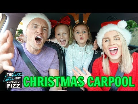 CARPOOL KARAOKE: CHRiSTMAS SONGS EDiTiON 