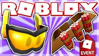 HOW TO GET OVERDRIVE GOGGLES & DYNAMO'S BANDOLIER!! (Roblox ACTION EVENT 2018 - Heroes of Robloxia)