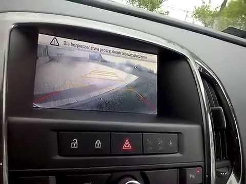 Opel Astra J Sedan oryginalna kamera cofania  - Rear View Camera