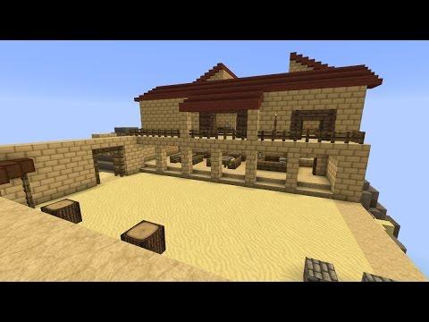 Minecraft - Batiatus\' Ludus (Spartacus) - YouTube