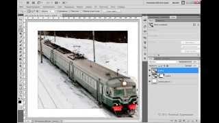Выходим за рамки фото - Photoshop Tutorial от Евгения Карташова(Очередной онлайн видеоурок фотошопа научит Вас придавать фотографиям эффект выхода из фотографии. Лучше..., 2014-07-18T01:49:51.000Z)