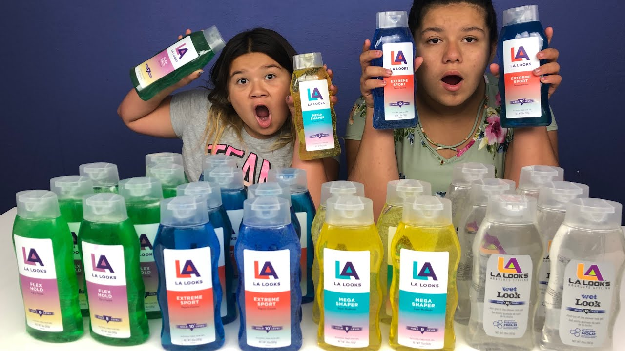 Slime Master Mary And Izzy: Don't Choose The Wrong Hair Gel Slime Challenge