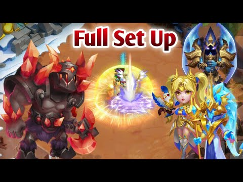 Brawler Warden Boss | Full Set Up | Zephryica/Cosmo/Mike In Team | Castle Clash