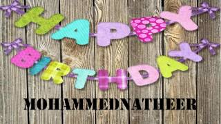 MohammedNatheer   Birthday Wishes
