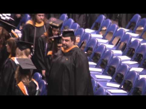 Marywood Graduation Entrance Procession May 8, 2011 - Looking for Ralph Pane Jr.