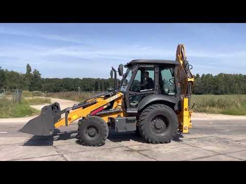 Gebruikte bouwmachine Case 851EX Pro 4WD  Graaf-laadcombinatie