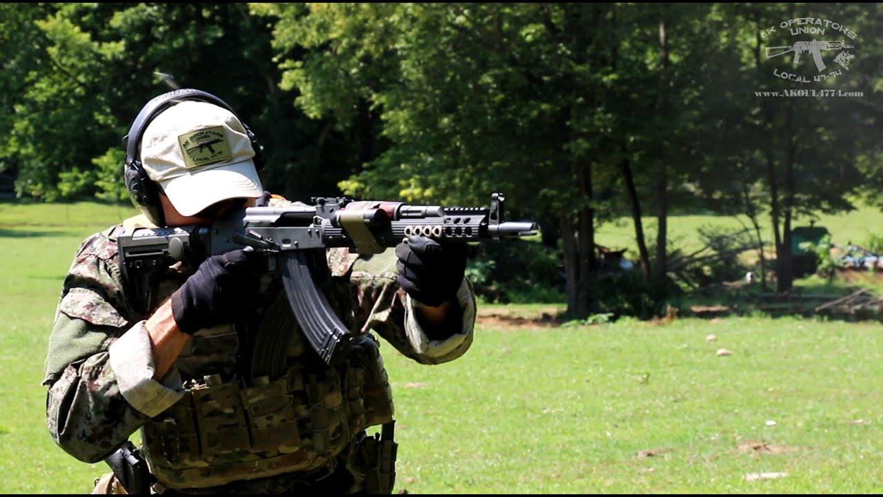 AK 47 (AKM) Muzzle Devices Review: SRVV Jet Brake 14-1LH