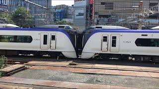 【かいじ・ふじかいゆう】E353系 特急 かいじ + 富士回遊@新宿駅