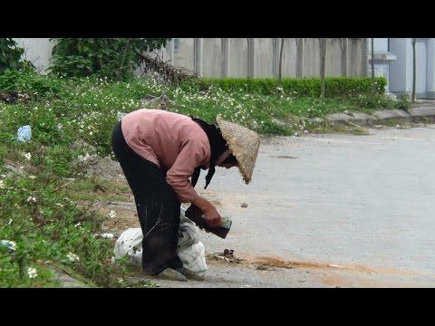 NTN - Đánh Rơi Tiền Thử Lòng Cụ Già Nhặt Rác - Try pleased with money