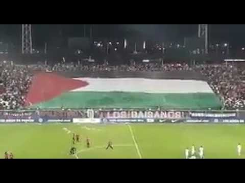 les chiliens soutiennent la palestine