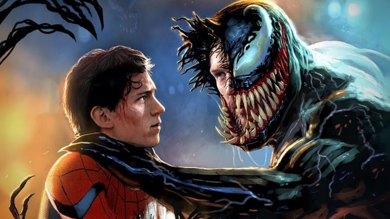 Image result for spiderman and venom