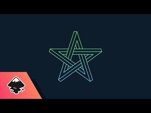 Inkscape Tutorial: Impossible Star Logo