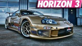 Video Forza Horizon 3 : 265+ MPH Toyota Supra Build download MP3, 3GP, MP4, WEBM, AVI, FLV Desember 2017