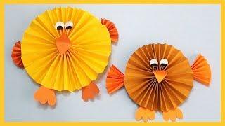DIY Paper Bird   Paper Sparrow   Easy Crafts