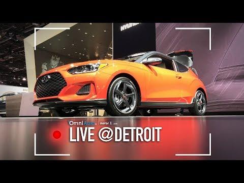 Nuova Hyundai Veloster, ancora con le porte non simmetriche | Salone di Detroit 2018