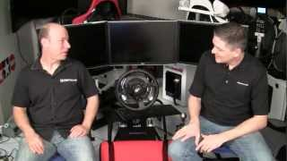 GT Omega Racing Simulator & Triple Monitor Stand Review