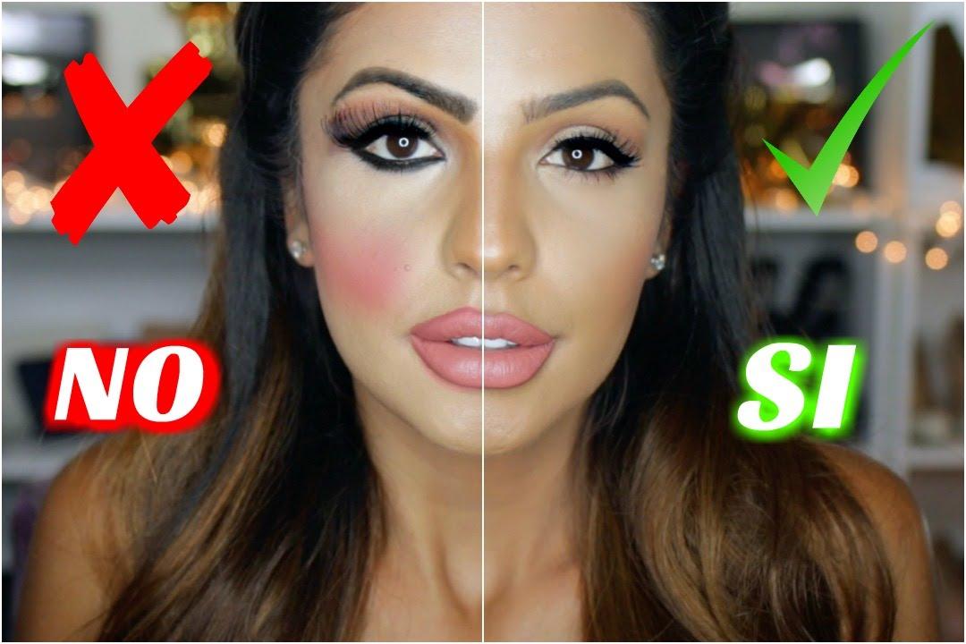 errores en tu maquillaje