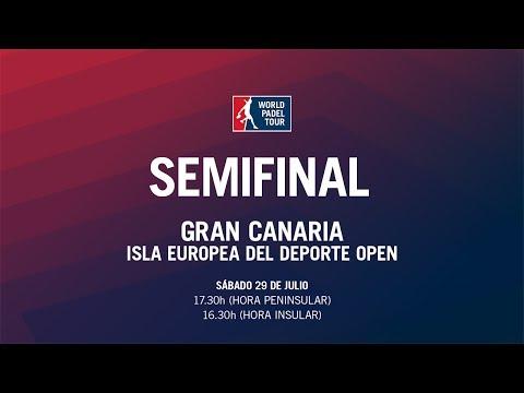 Semifinal Masculina Gran Canaria Isla Europea del Deporte Open 2017   World Padel Tour