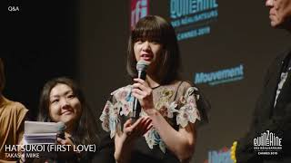 Q&A HATSUKOI (First Love) avec Takashi Miike & Sakurako Konishi Tou...