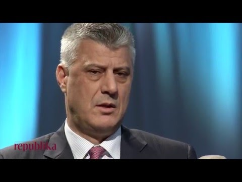 Emisioni REPUBLIKA  - Hashim Thaçi