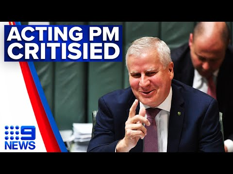 Acting PM compares BLM protests to US Capitol riots | 9 News Australia thumbnail