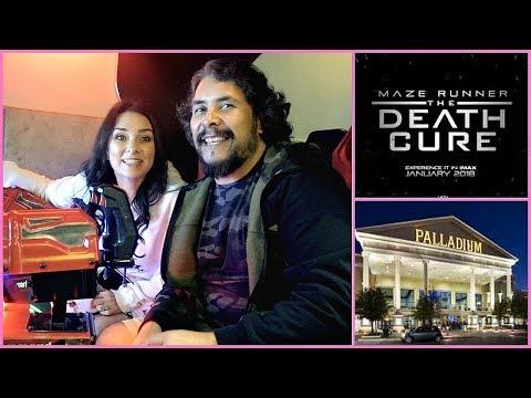 Going To The Movies 🍿 Maze Runner: The Death Cure 🎬 Santikos Palladium San Antonio TX 😀