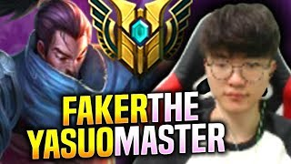 FAKER THE MASTER OF YASUO! - SKT T1 Faker Plays Yasuo vs Irelia Mid! | S9 KR SoloQ Patch 9.15