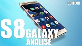 Galaxy S8 - 8 Gigas de Ram Review, Análise e Rumores