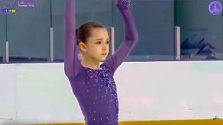 "[78.10] Камила ВАЛИЕВА / Kamila Valieva - ""Hope Russia"" - Girls, KMC - Short Program 2019.04.04"