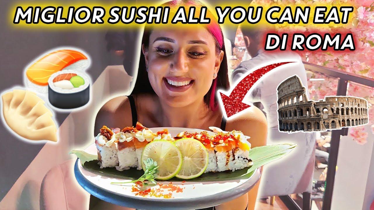 PROVIAMO IL MIGLIOR SUSHI ALL YOU CAN EAT DI ROMA