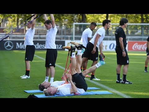 Erstes Training in Stuttgart