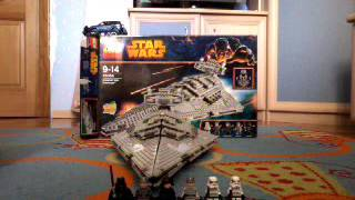 Lego star wars Звездный разрушитель