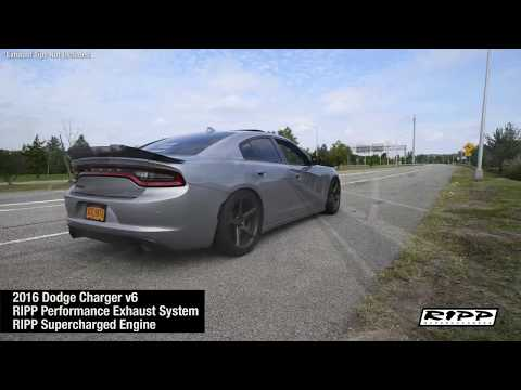 RIPP Performance Exhaust System - 2016 Charger - RIPP Supercharged