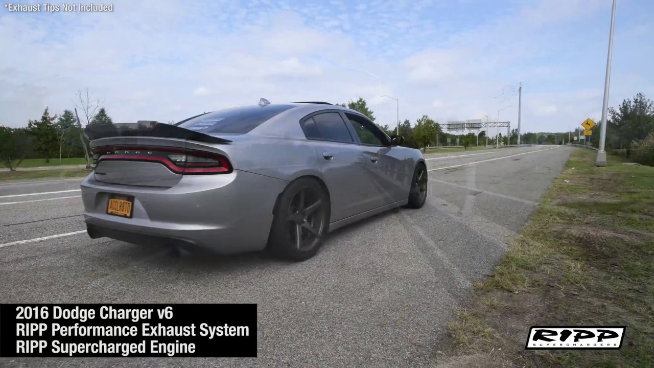 2011 2021 dodge charger ripp high performance exhaust