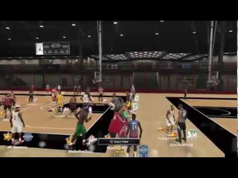 Kyrie Irving at the NBA 2K15 MyPark Jordan Rec Center - Lege