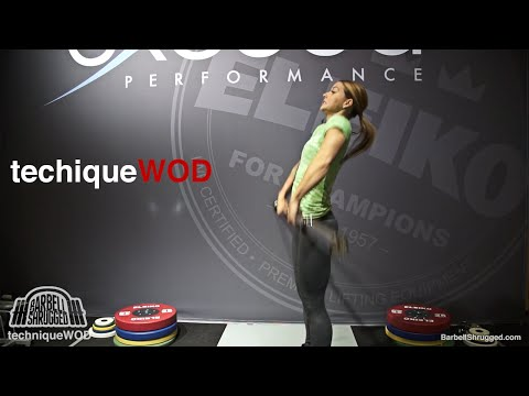 An Easy Way to Teach Beginners How to Clean w/ Christmas Abbott - TechniqueWOD