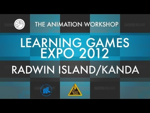 3D audiogame - Radwin Island - Learning Games Expo 2012 - Denmark