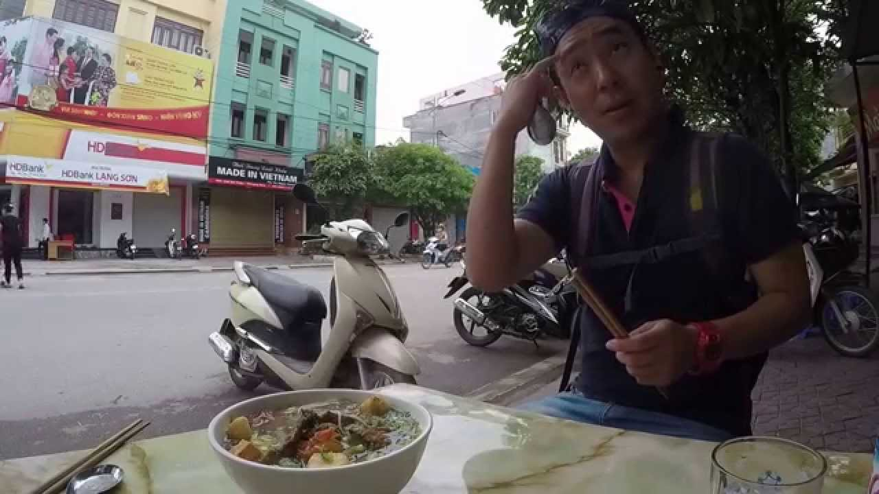 Fried fish noodle lang son vietnam for Esstisch 2 00 m