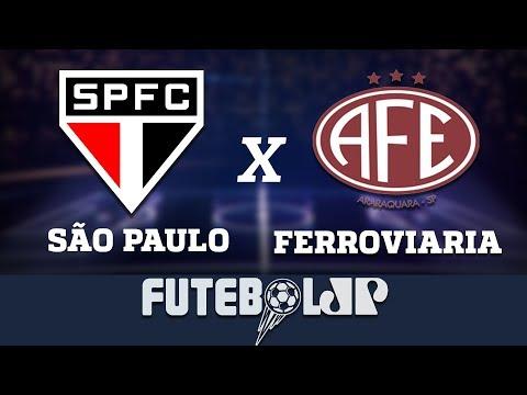 São Paulo 1 x 1 Ferroviaria - 09/03/19 - Paulistão