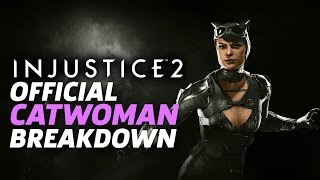 Injustice 2 - Official Catwoman Moveset and Breakdown