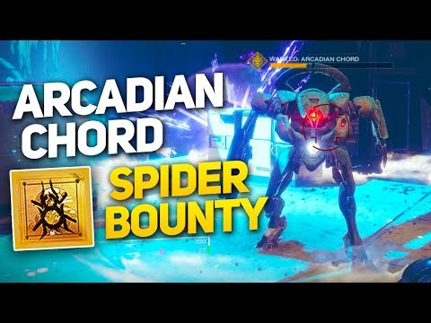 Wanted: Arcadian Chord - Spider's Weekly Bounty Guide - Powerful Gear Reward (Destiny 2 Forsaken) thumbnail