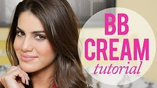 Easy Makeup using BB Cream