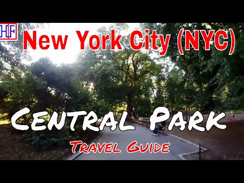 New York City (NYC) | Central Park | Tourist Attractions | Episode# 10